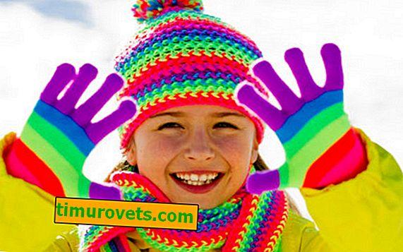 Размер на детски ръкавици