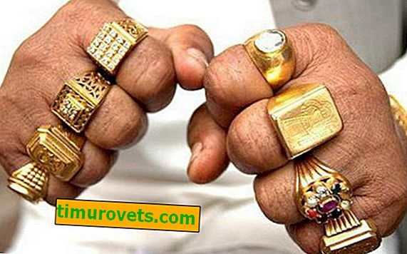 På hvilken finger du skal bære en ring til en mann
