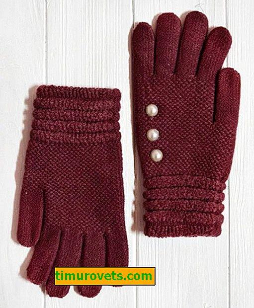 Плетива ръкавици за деца