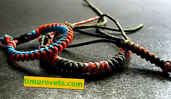 How to tie a bracelet?