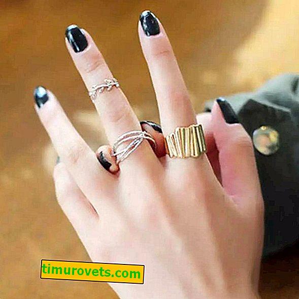Zašto ne možete nositi prsten na prstenastom prstu: praznovjerje