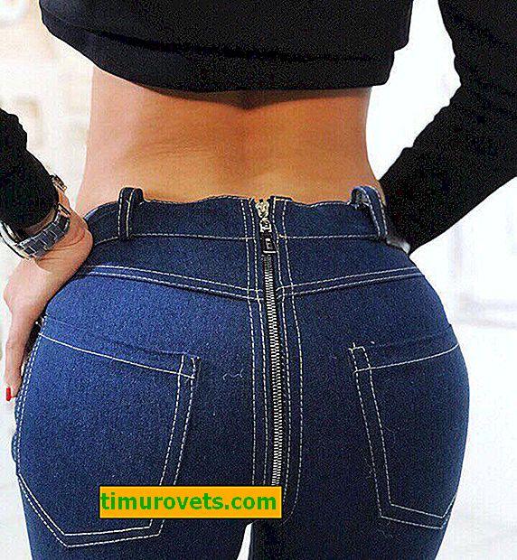 Hvorfor på glidelås på jeans: en provokasjon eller en motetrend