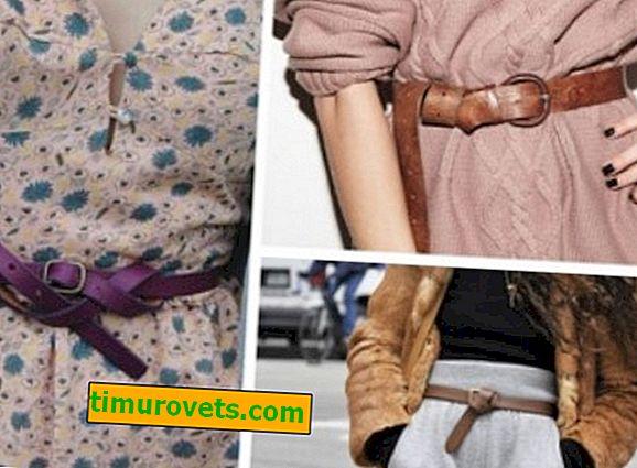 Como amarrar um cinto na cintura?