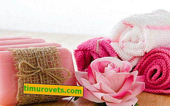 Jak vyrobit růži z ručníku