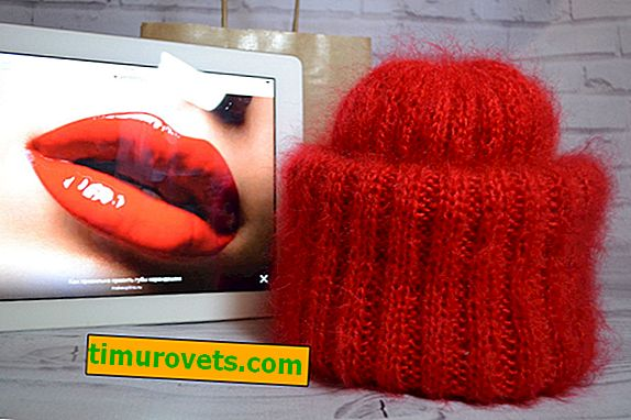 How to tie a takori hat with knitting needles for beginners