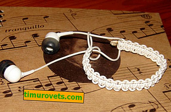 DIY headphone bracelet