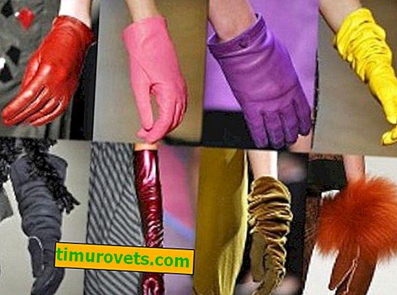 Od čega su napravljene rukavice?