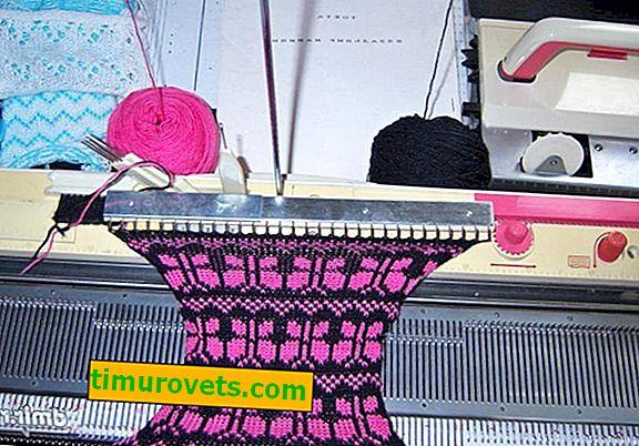 Viving na stroju za pletenje