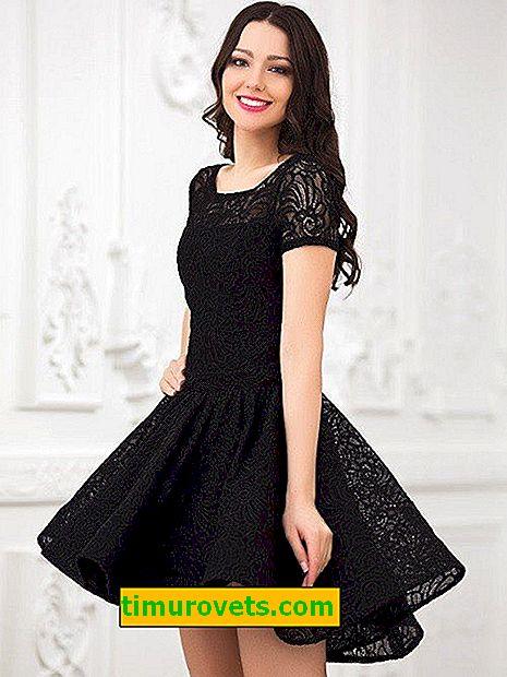 Направете бързо дантелена рокля