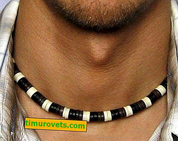 Quel genre de collier les hommes portent-ils?