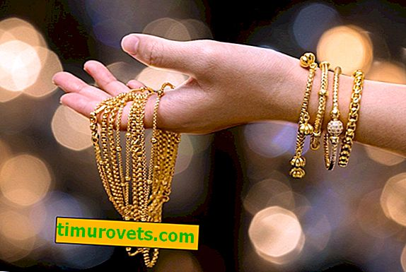 Как да почистите златна верига