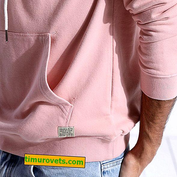Slik syr du en kengurulomme på en genser