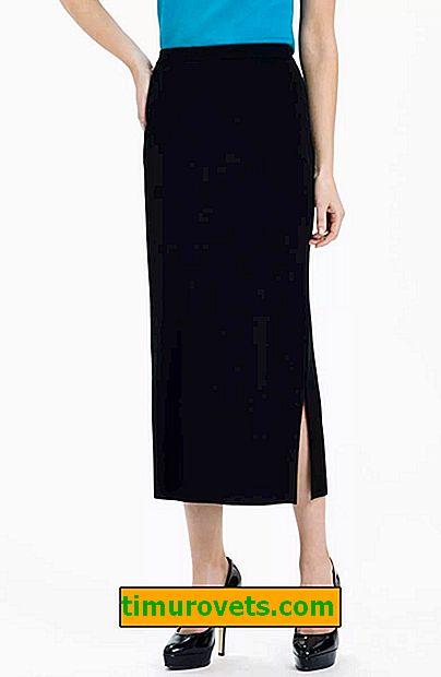 Midi sukňa vzor