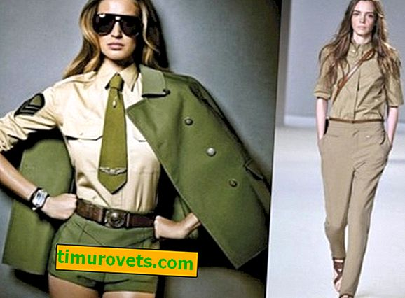 What colors does khaki in clothes go with?