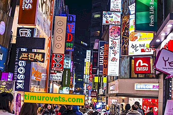 Proč nemůžete vyzkoušet oblečení v obchodě v Koreji?