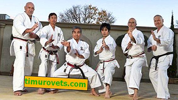 Как да шиете лента на колан с киокушинкай карате?