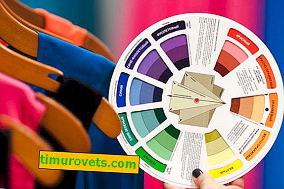 Hvilken farve er kombineret med hvad i tøj?