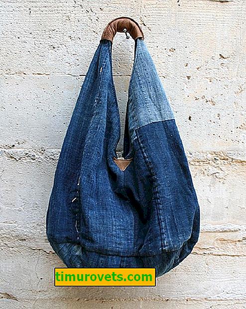 DIY torba za torbu, uzorak