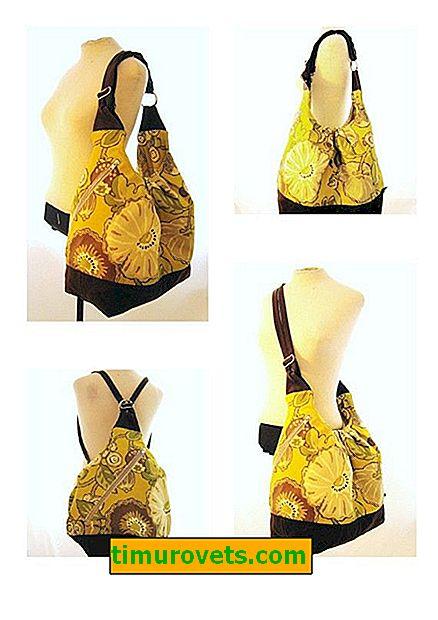 DIY transformerende rygsæk taske
