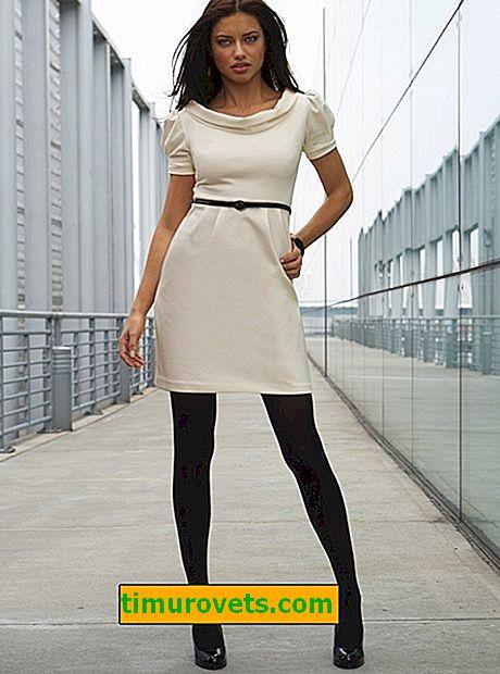 Мога ли да нося тъмни чорапогащи под лека рокля?