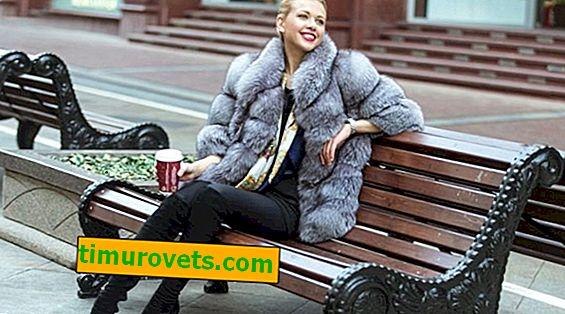 O que fazer se arranhões de uma bolsa aparecerem em um casaco de pele?