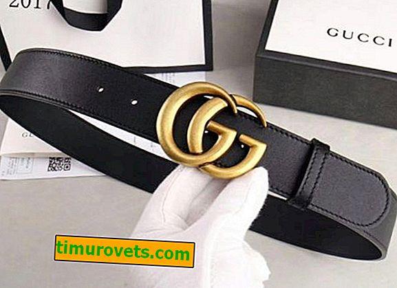 Come Distinguere Una Vera Cintura Gucci Da Una Falsa