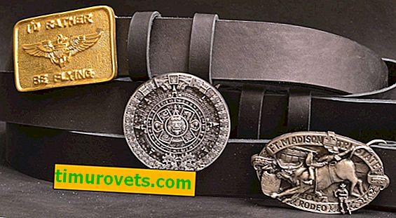 Tipos de hebillas de cinturón