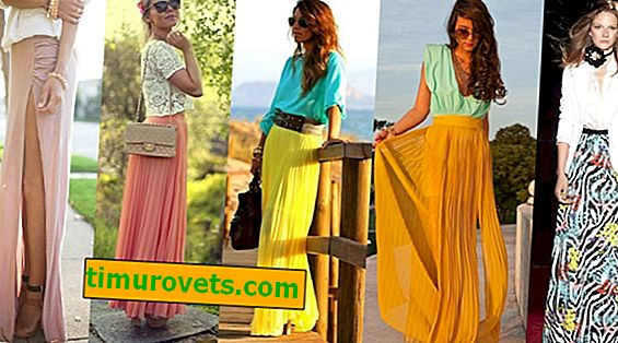 How to wear a long skirt in the summer so as not to look like an old lady