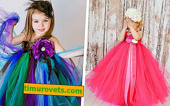 Wspaniała sukienka dla dziewczynki własnymi rękami