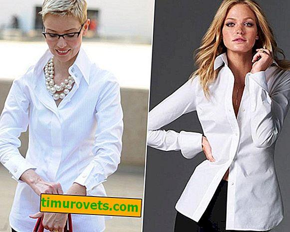 Jak nosit bílou košili pro ženy