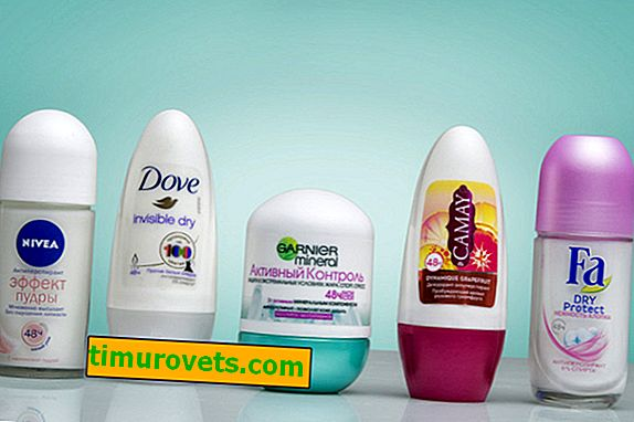 Which deodorant leaves no residue on clothes?
