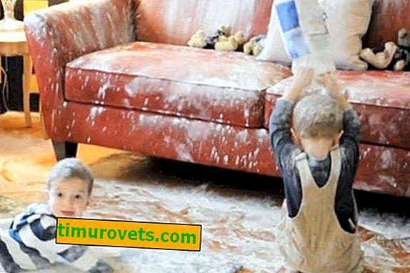 Kako očistiti kavč iz semiša?