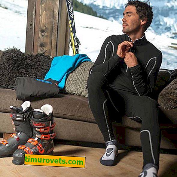 Što odabrati termalno rublje za snowboard?