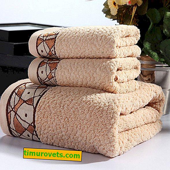Kako povrniti mehkobo frotirnih brisač