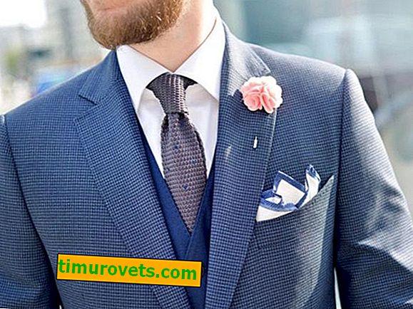Proč potřebujete kapesní čtverec v pánském obleku