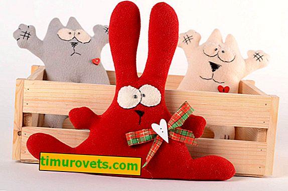Іграшки з флісу своїми руками викрійки