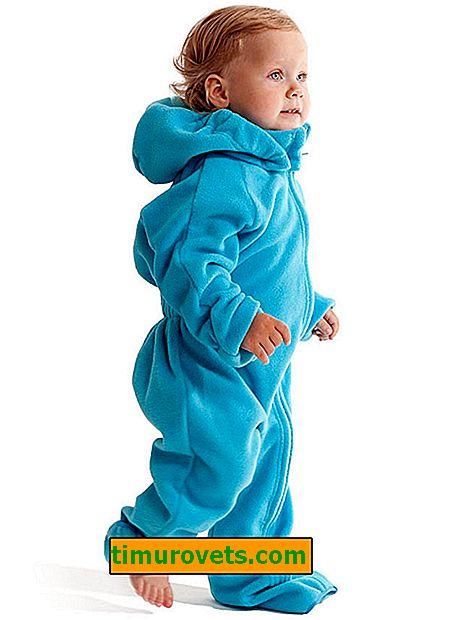 Modèle de salopette pour enfant en polaire