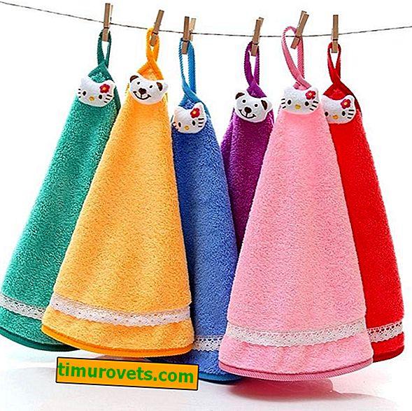 Kako šivati brisačo
