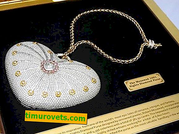 The 3 most expensive handbags in the world: do you want a handbag with diamonds?