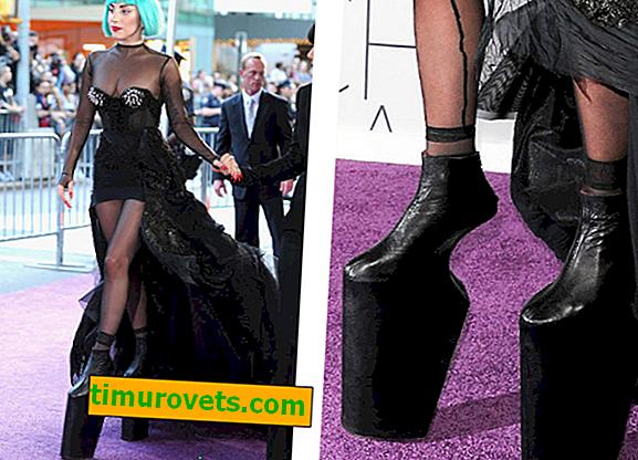 7 звезди, които избраха очевидно неудобни обувки