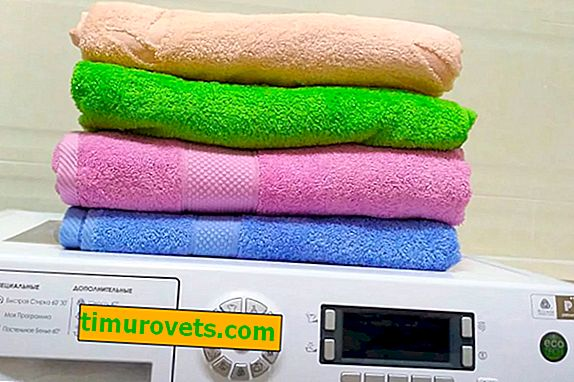 How to wash terry towels