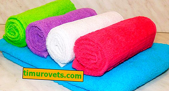 Kako zložiti brisačo v slamico?