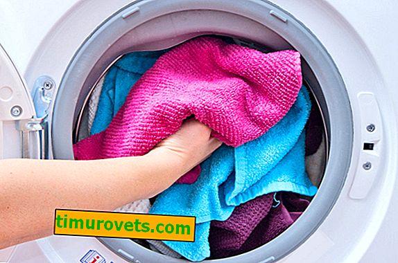 Kakšna je temperatura za pranje brisač?