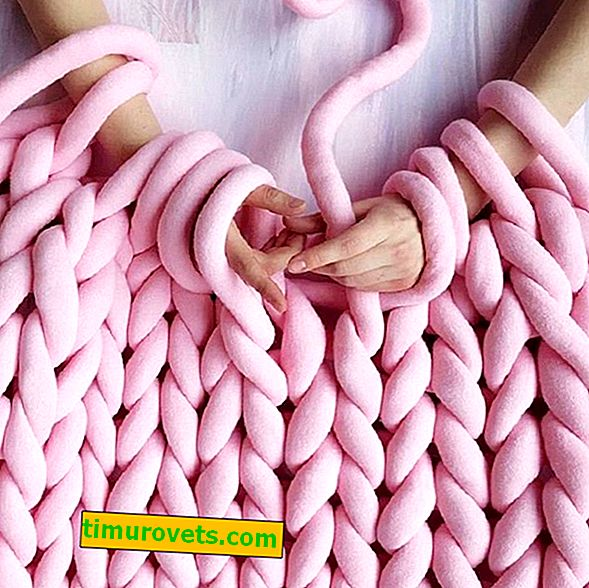 How to Knit Thick Yarn