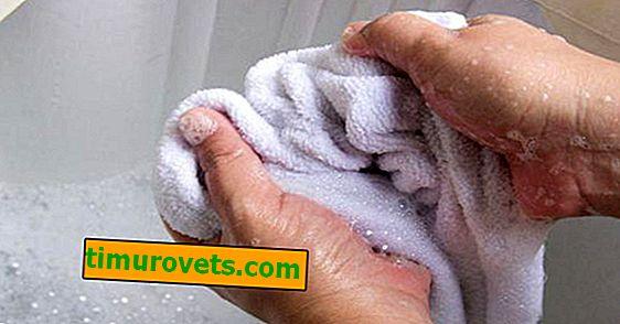 Kako oprati kuhinjske brisače?