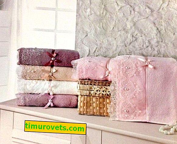 Kako spakirati brisačo v darilni papir?