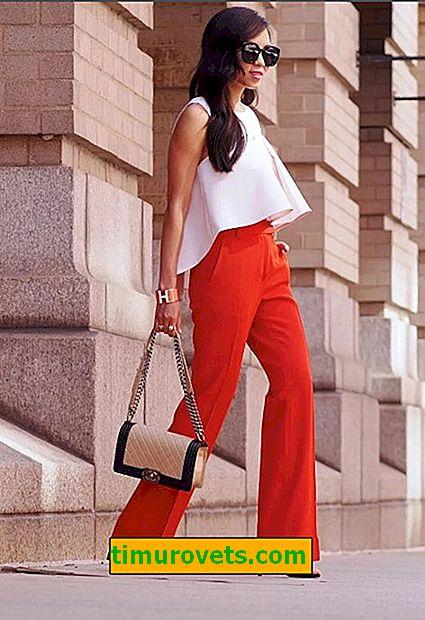 Pantalon rouge - une tendance ou un défi pour la société?