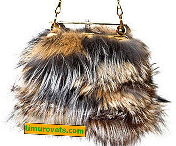 DIY fur bag