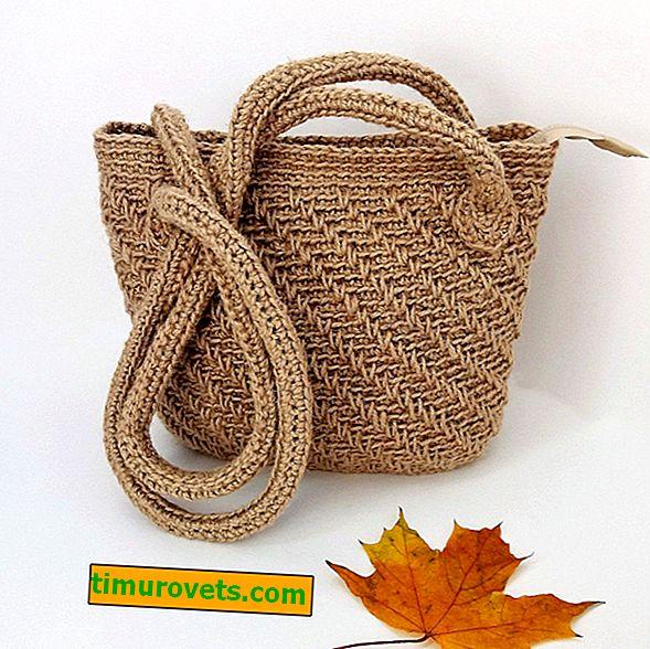 Crocheted Jute Bag