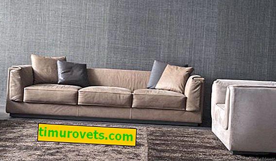 Ante sintético para sofá: ventajas y desventajas